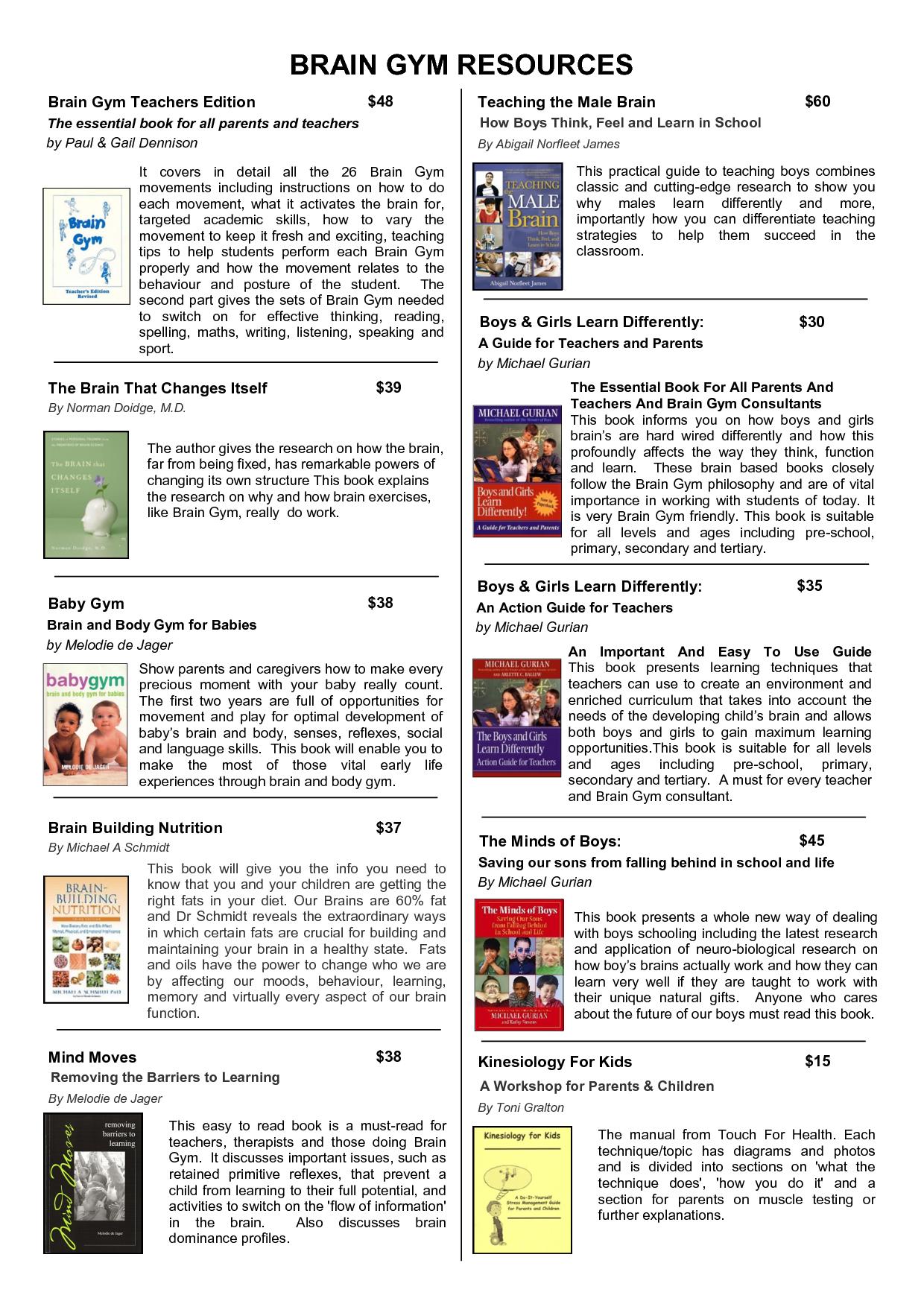 Brain Exercise Worksheets Printable
