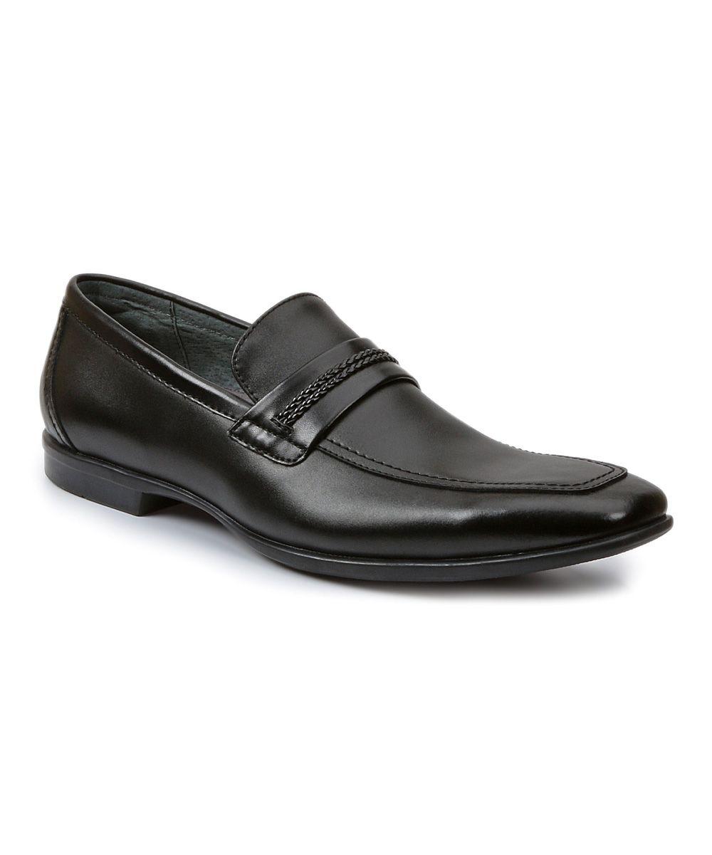ba14a003849 Black Liston Leather Loafer. Black Liston Leather Loafer Giorgio Brutini