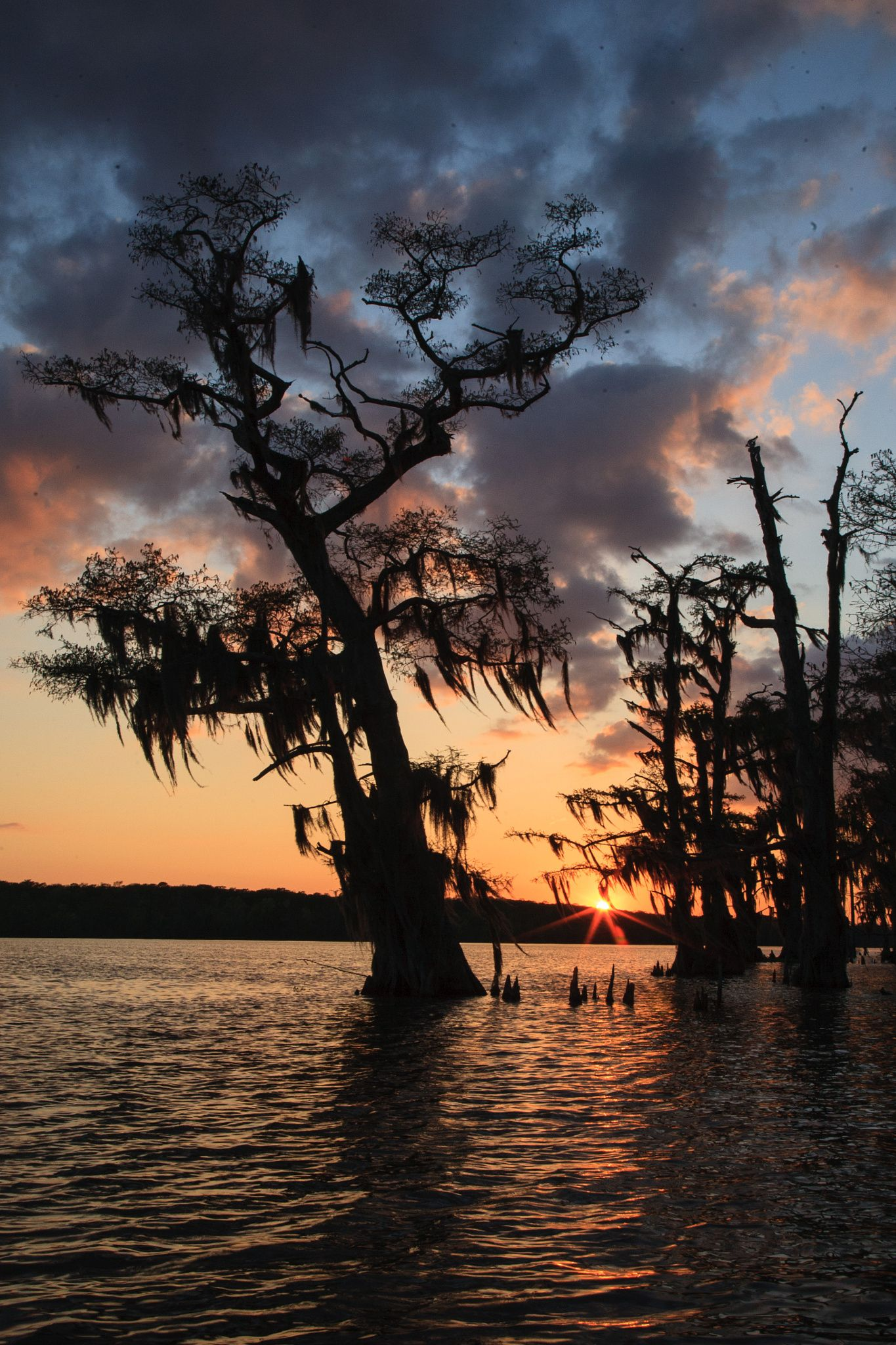 Louisiana: Sunset Belle River by Timothy Muffitt on 500px