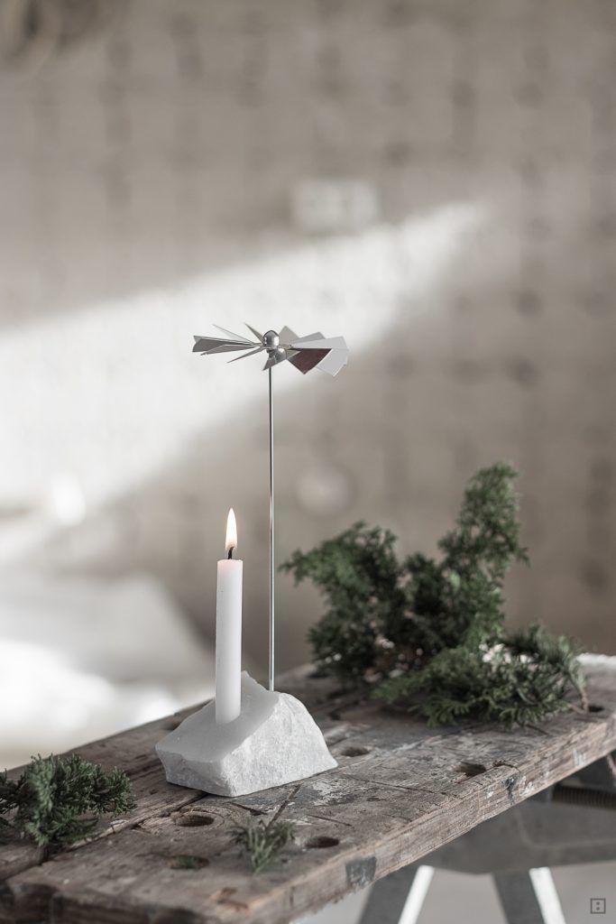 Minimalistische Weihnachtspyramide Mit Stricknadeln Und Speckstein Zwo Ste In 2020 Wein Halter Kunst Selbstgemacht Stricknadeln