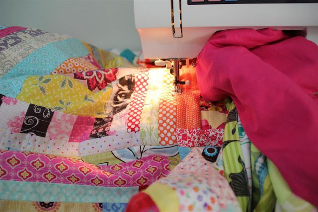 Diary of a Flutter.Kat: My Quilt-As-You-Go Process - A tutorial (of sorts)...