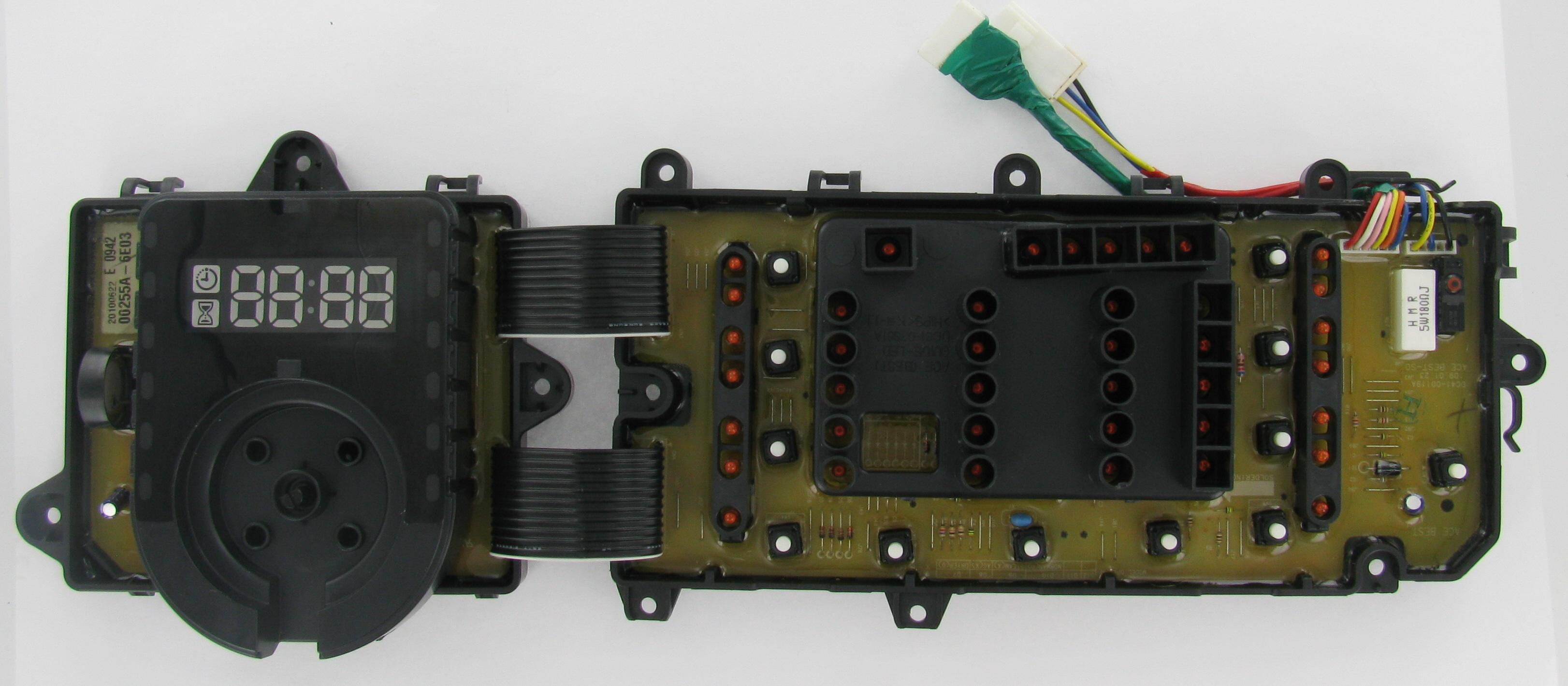 Samsung Dc92 00255a Laundry Washer Pcb Assembly Board Washer Laundry Broken Appliance Washer