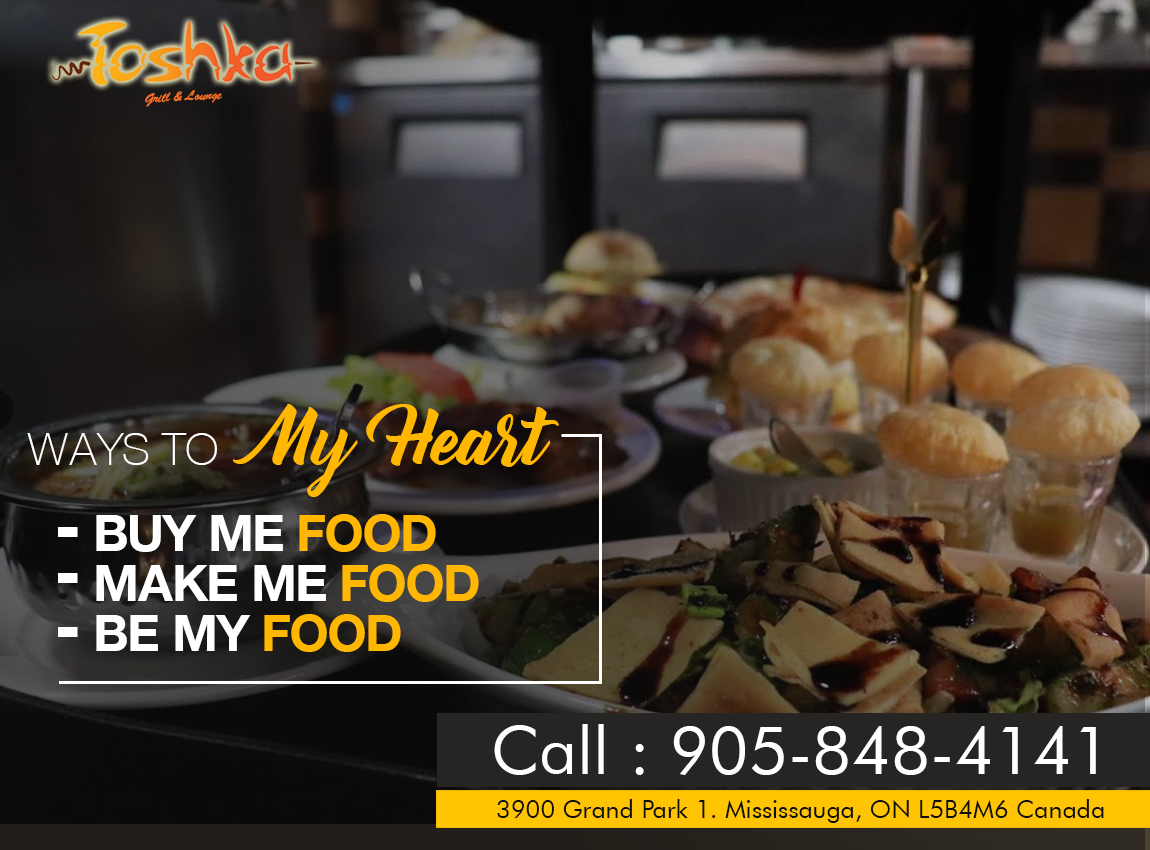 There Is No Sincere Love Than The Love Of Food Toshkagrill Toshkalounge Desifood Halalfood Mississauga Foodies Halal Recipes Desi Food Food