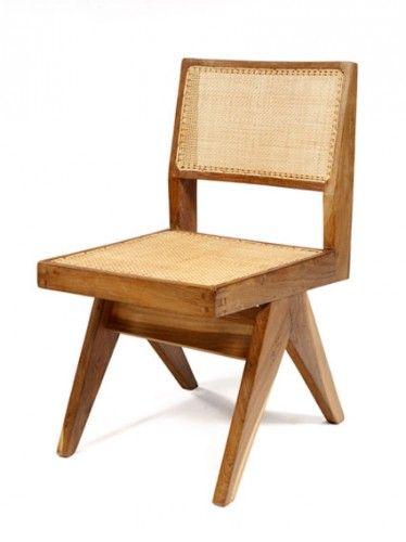 Lecorbusier Chandigarh Holzstuhle Stuhle Stuhl Design