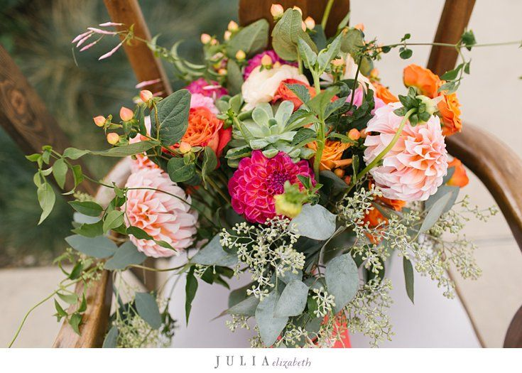 Colorful Flowers Done By Shannon Clarke At Wholefoods Tamarac For A Beautiful Washington Park Wedding