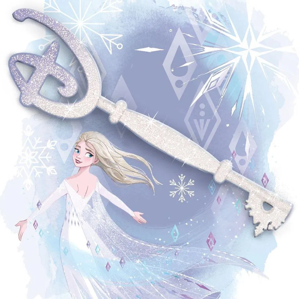 Elsa Disney Store Key Breezing Into the Unknown Soon - Decor