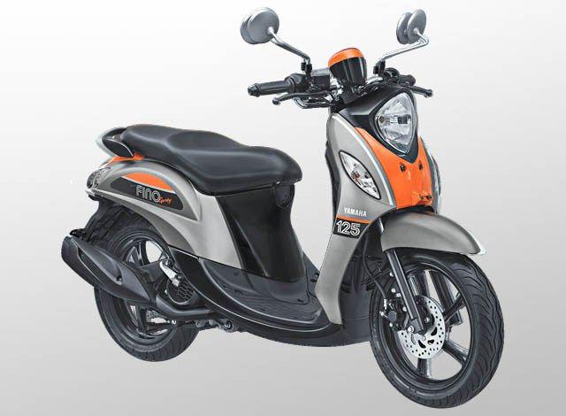 Yamaha Fino 125 Sporty Warna Pump Grey Abu Abu Galeri