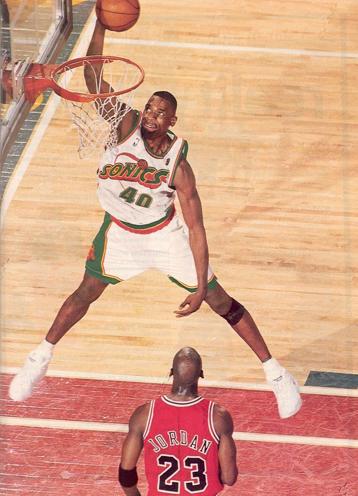 99e9e0b44a3f Shawn Kemp Basketball Photos