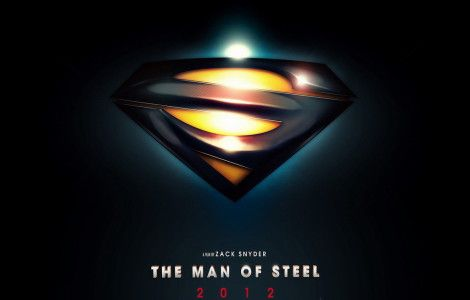 HD wallpaper Man Of Steel – Glowing Logo Wallpapers