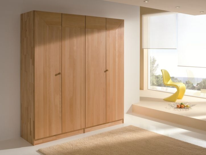 Beautiful Massivholz Kleiderschrank FRAME modern solid wood wardrobe