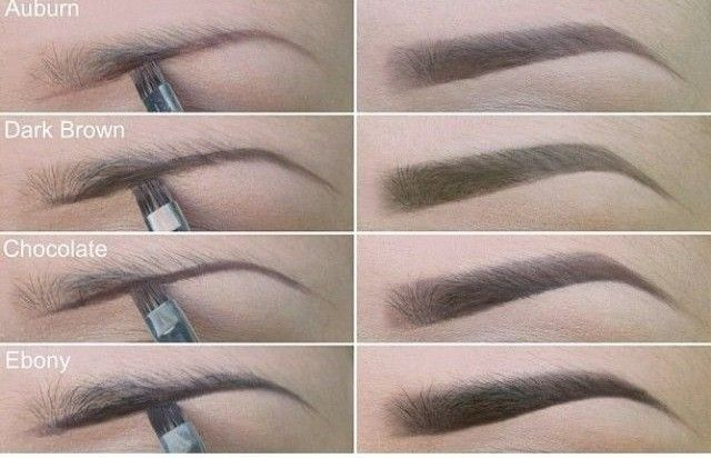 Choosing the correct color to fill in your eyebrows can ...