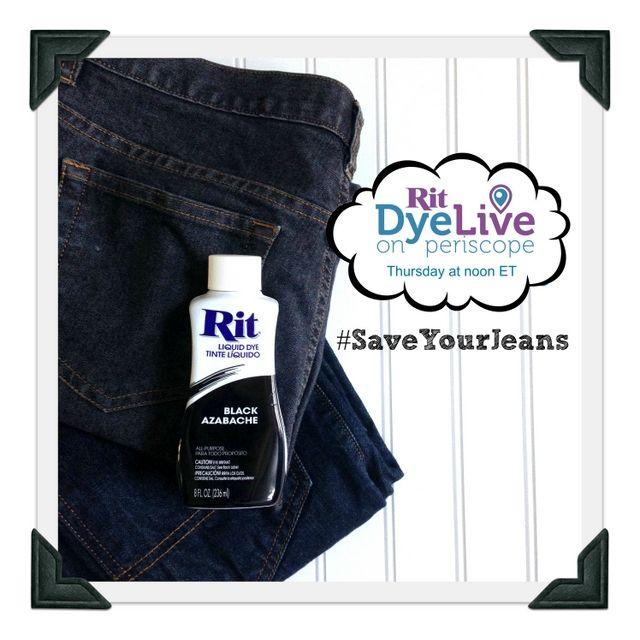 How To Make Black Jeans Black Again Ritdye How To Dye Fabric Black Jeans Black