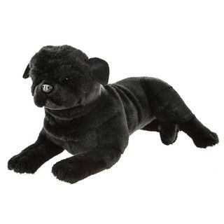 Black Pug Dog Plush Toy Bandit Bocchetta Plush Animals Dogs