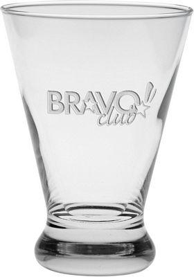Deep Etched Cosmopolitan Beverage | Customized Glass Barware | Promotional  Glass Barware