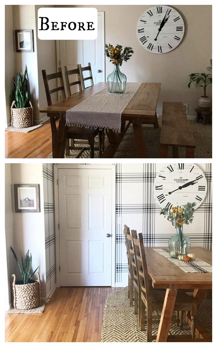 40 Wallpaper Transformations that will Blow you Away!!! - Nesting With Grace