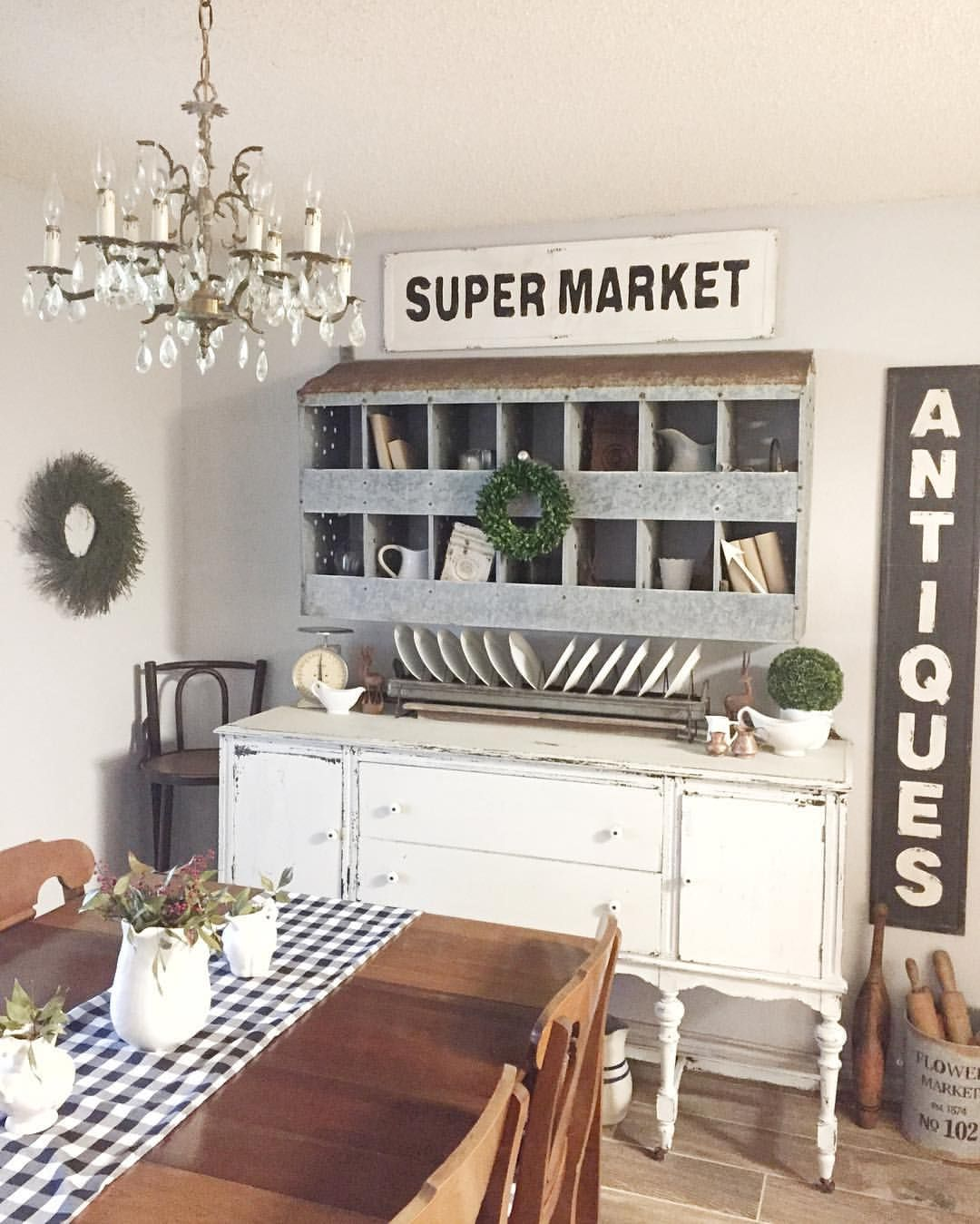 50 Modern Farmhouse Dining Room Decor Ideas 35: Pin By Sasha Smith Downing On New Home In {NB}