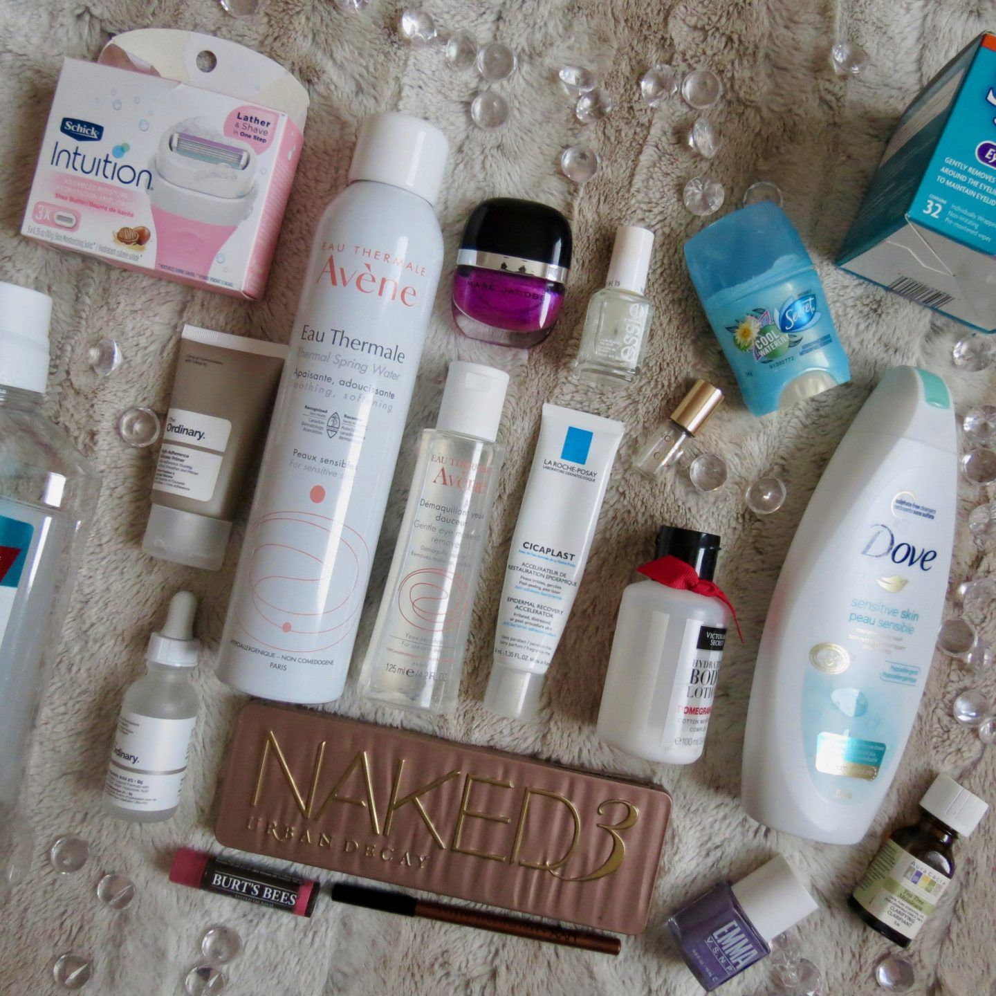 Products I Finished January 2019 The ordinary products