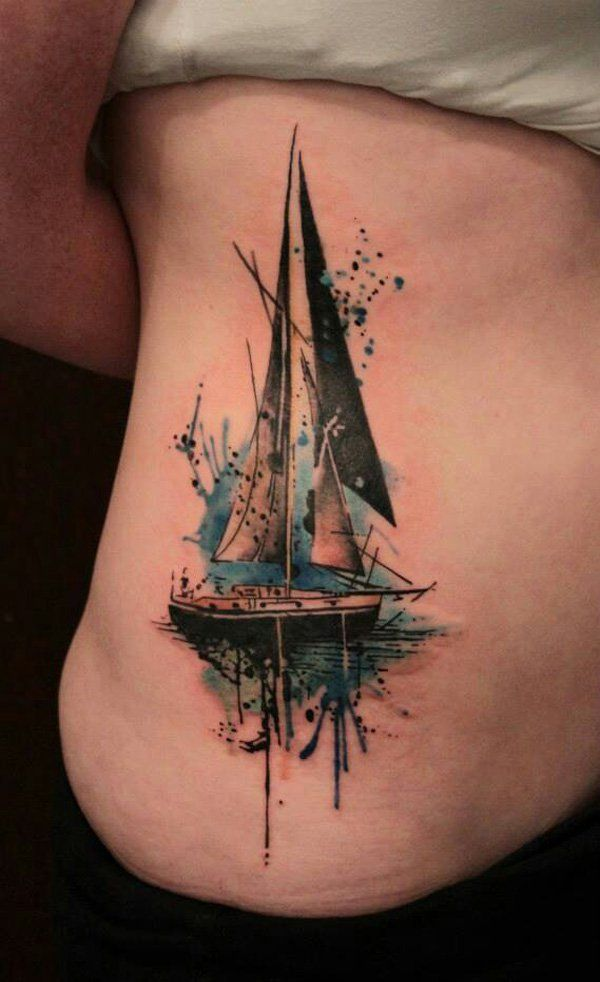 7567eb869 I want this tattoo. Ghost ship. Sister ship. All the life choices we never  made, the other choice, the other path that travels with us.