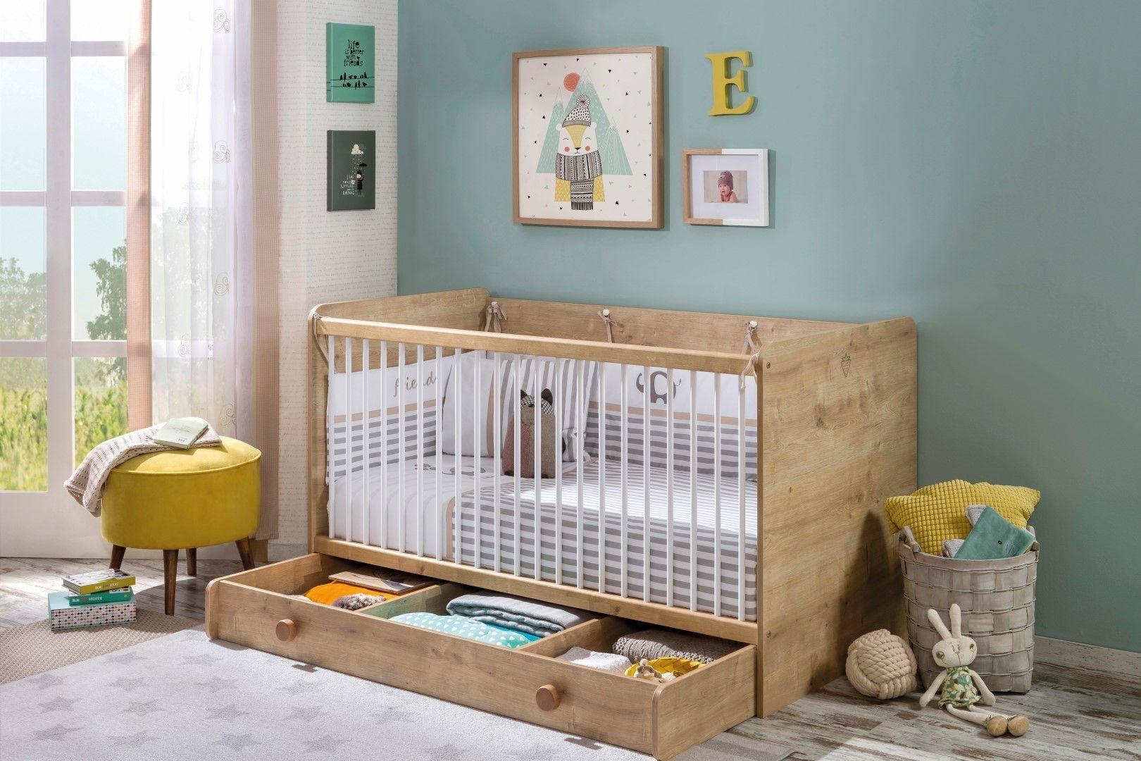 Stockholm babykamer jongens meisjes babybed ledikant inspiratie
