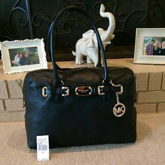 4693cb24b076 NEW Michael Kors Hamilton Weekender 100% Authentic Michael Kors Hamilton  Luggage Weekender/Travel Bag