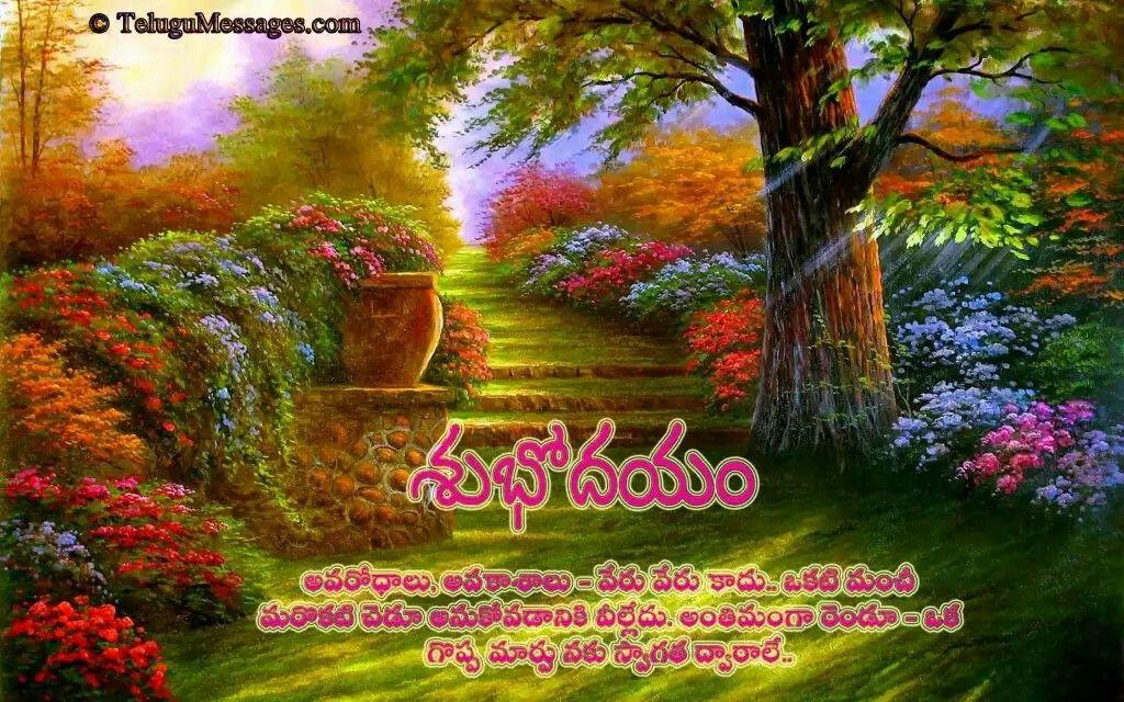 Pin by Venkat Reddy U on Telugu Good Morning Quotes