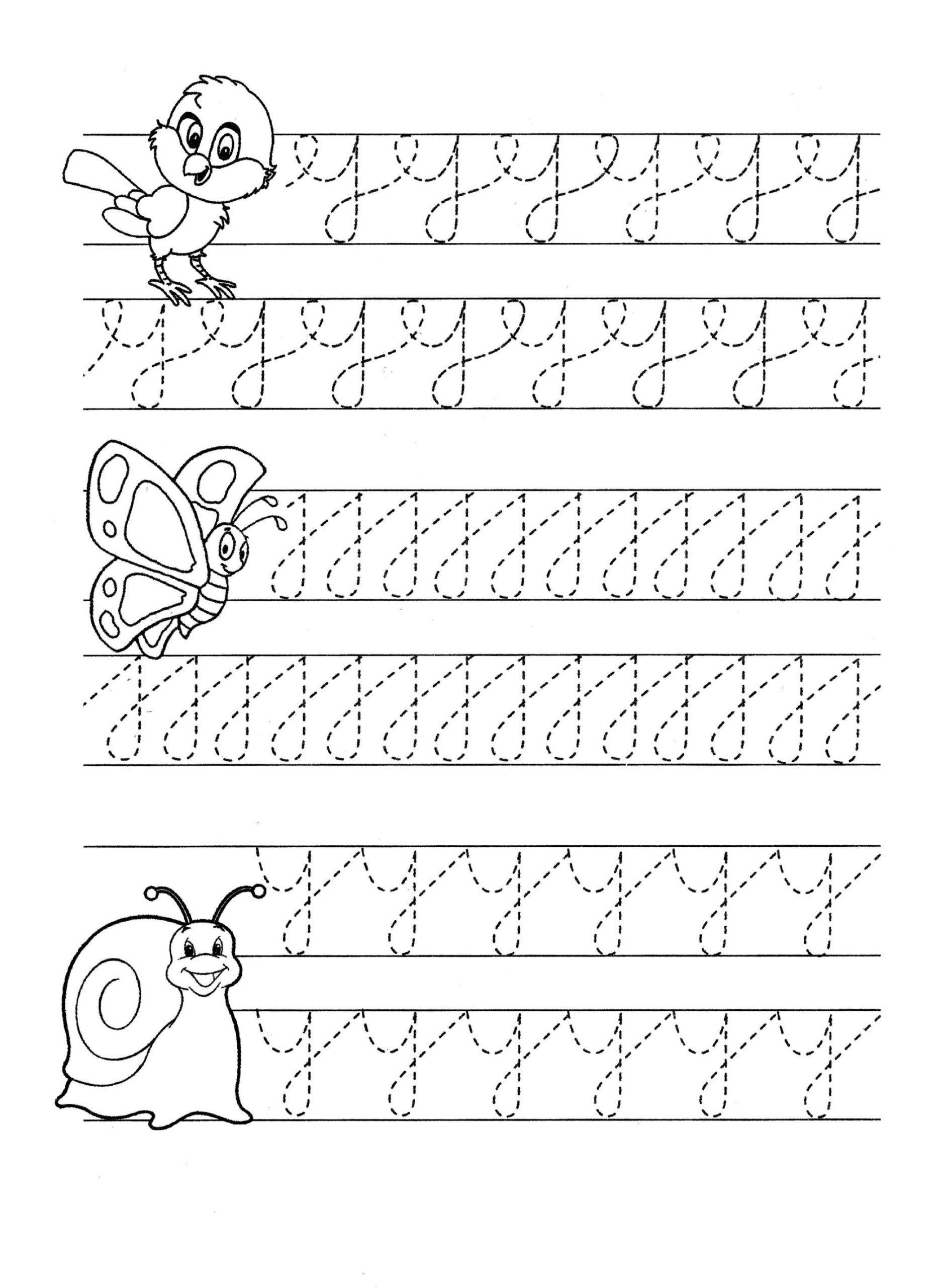 Kumon Maths Worksheets Printable Pencil Control Letter