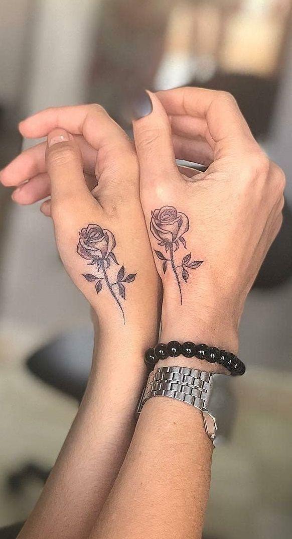 55 Tolle Tattoos für beste Freunde | TopTattoos - Best friend tattoos - Derek