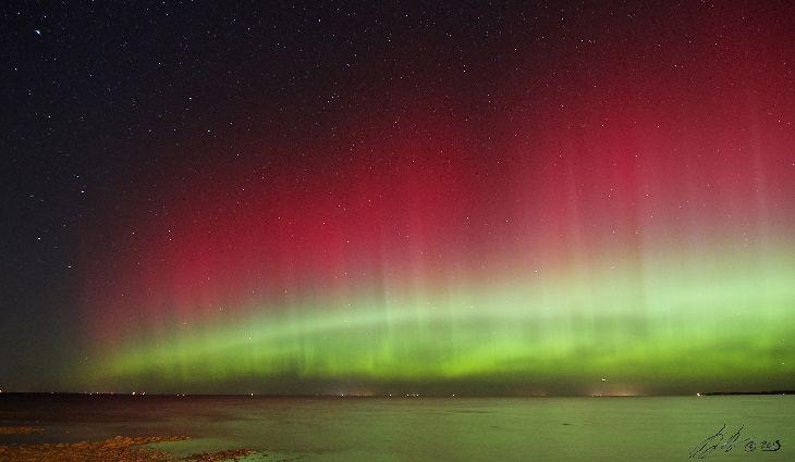 Aurora Borealis Green Bay Wisconsin Usa Aurora Pinterest