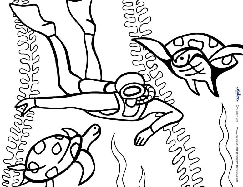 Printable Under The Sea Coloring Page 6 Coolest Free Printables