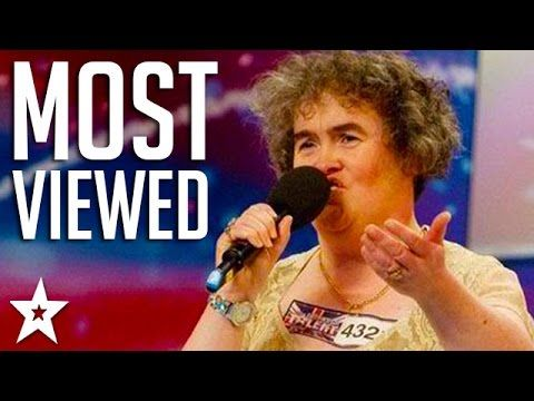 Most Viewed Auditions On Britain S Got Talent Including Susan Boyle Britain Got Talent Country Music Singers Audition