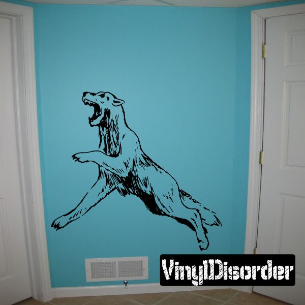 Lion Wall Decal - Vinyl Decal - Car Decal - DC047
