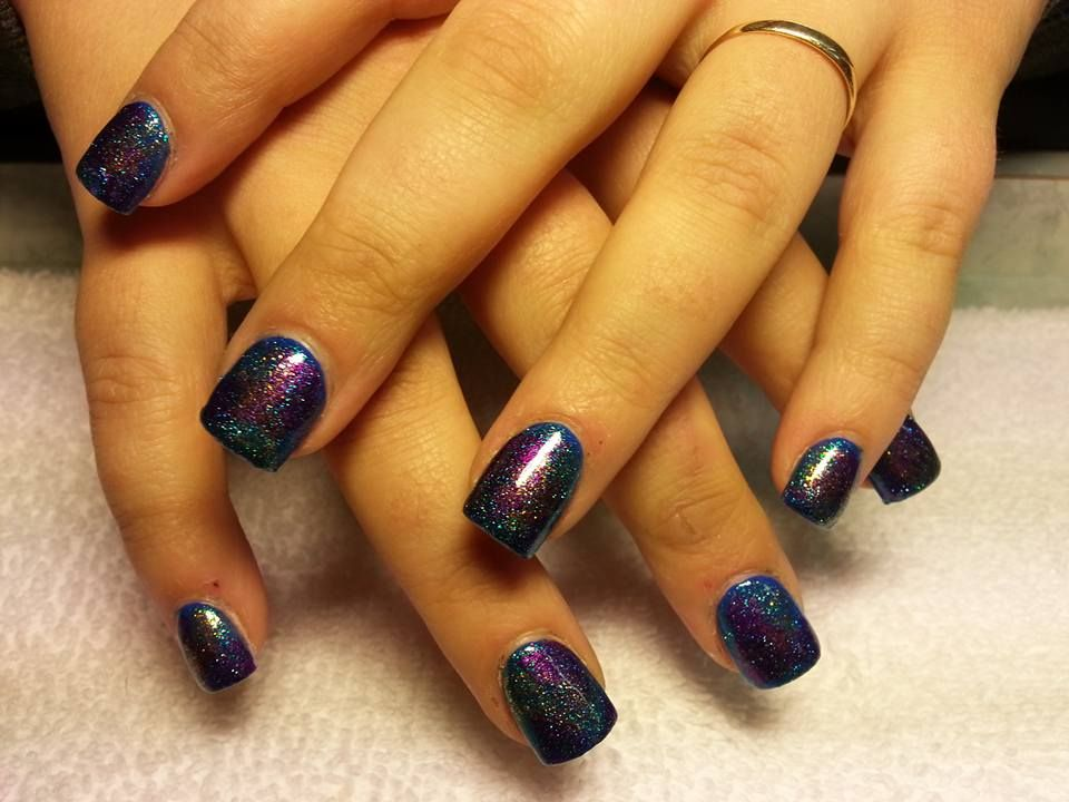 45 Beautiful Galaxy Nail Art Design Ideas | Galaxy nail art, Galaxy ...