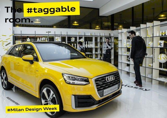 The #untaggable Audi Q2. #Mutabor #Design #Architektur #Audi