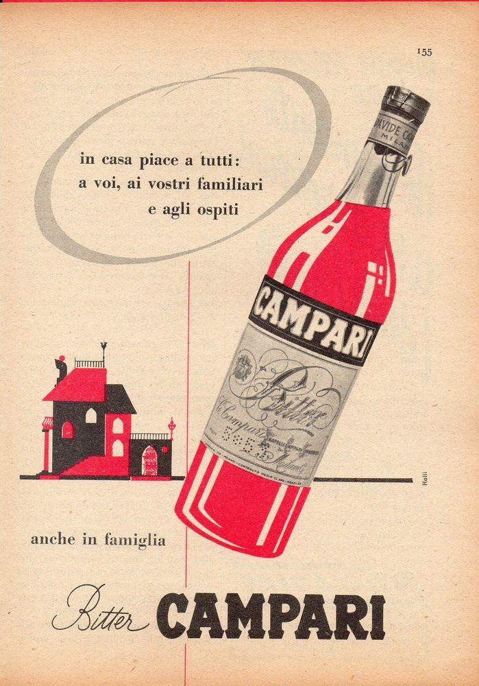 advertising 1957 bitter campari 1