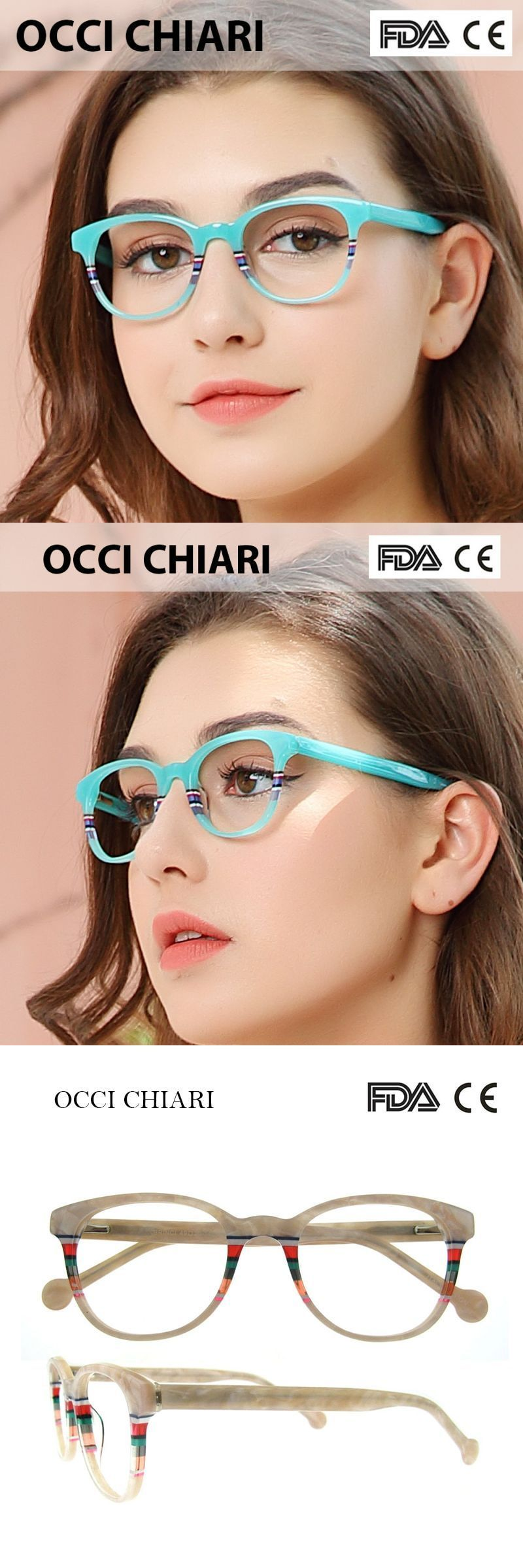 ad2813d11723 Recommend good quality italy design acetate navy stripes spring hinge  eyeglasses women eyewear clear glasses frame w-corro  frames  eyewear   accessories ...