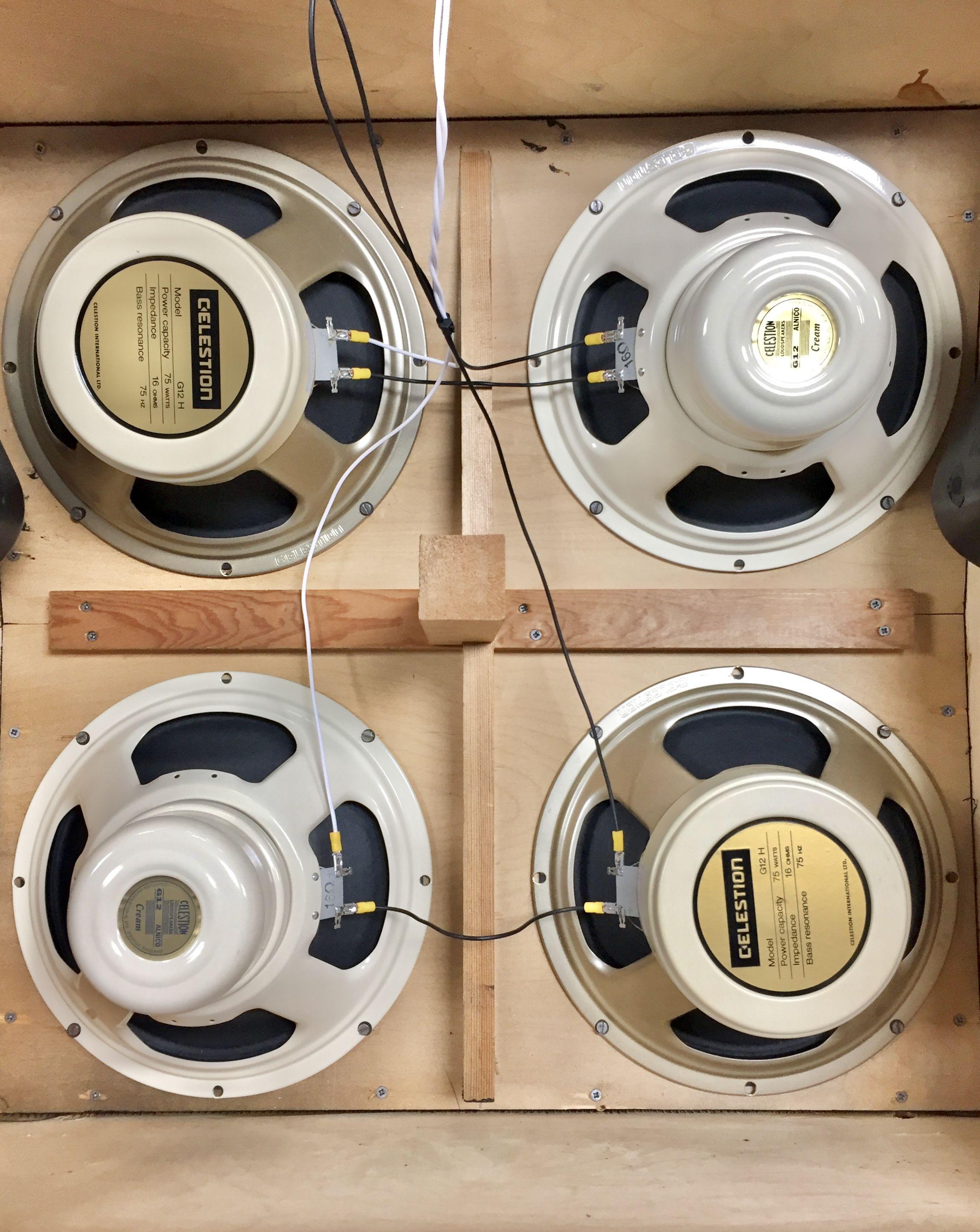 Marshall 1977 1960a 4x12 Slant Cabinet Speaker Box Design Speaker Design Car Amplifier