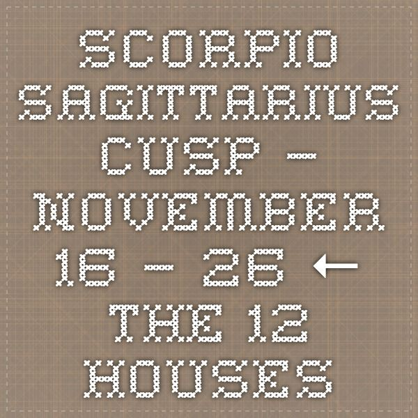november 26 cusp horoscope
