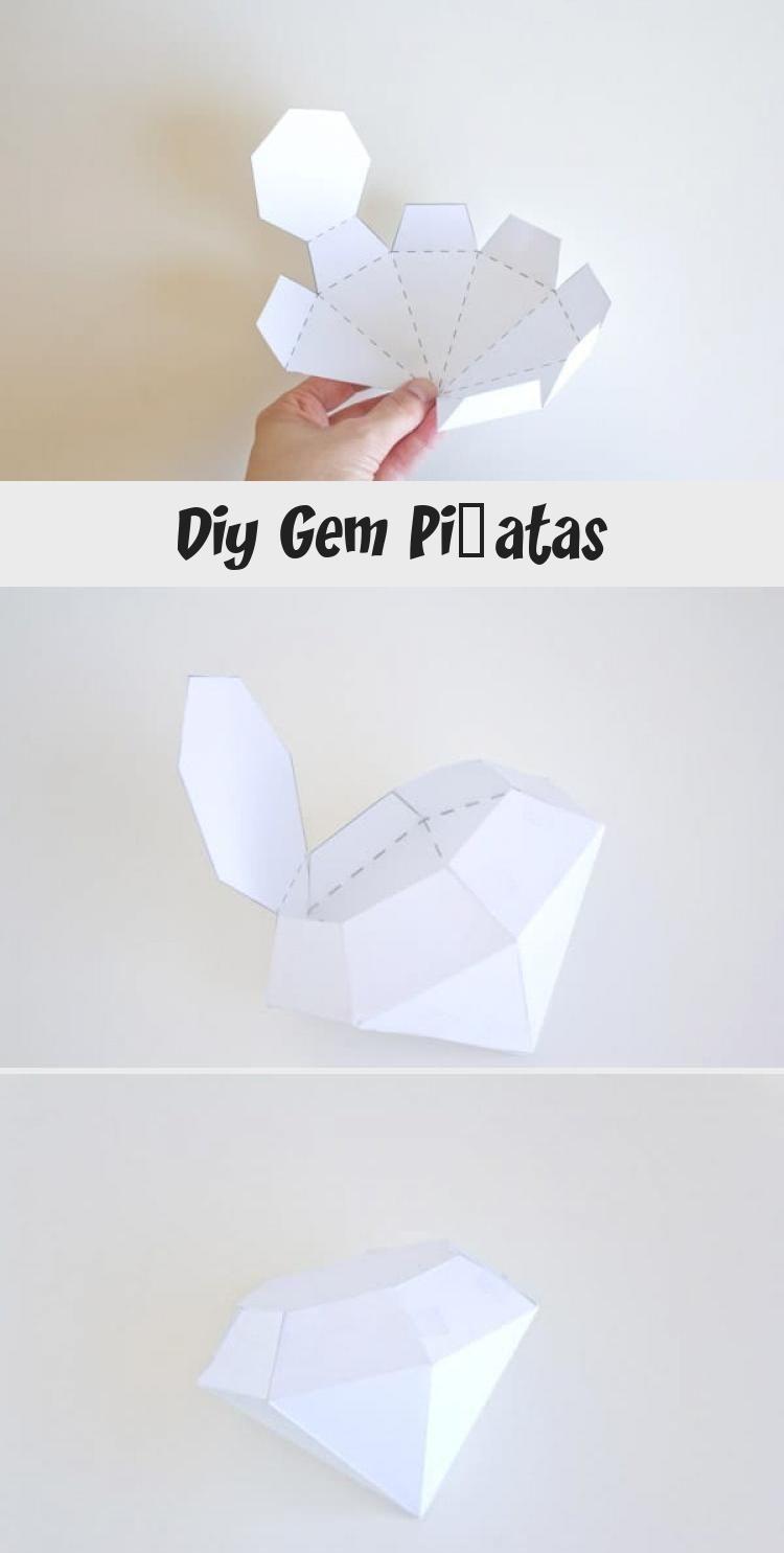 Photo of DIY Gem Piñatas #Hochzeitsjubiläum #Jubiläum #Partytheme #Feiern #Pi – … – …