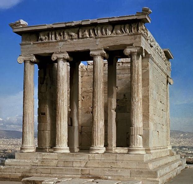 Templo de Atenea Niké (Grecia, 427-410 aC). Calícrates (Grecia ...