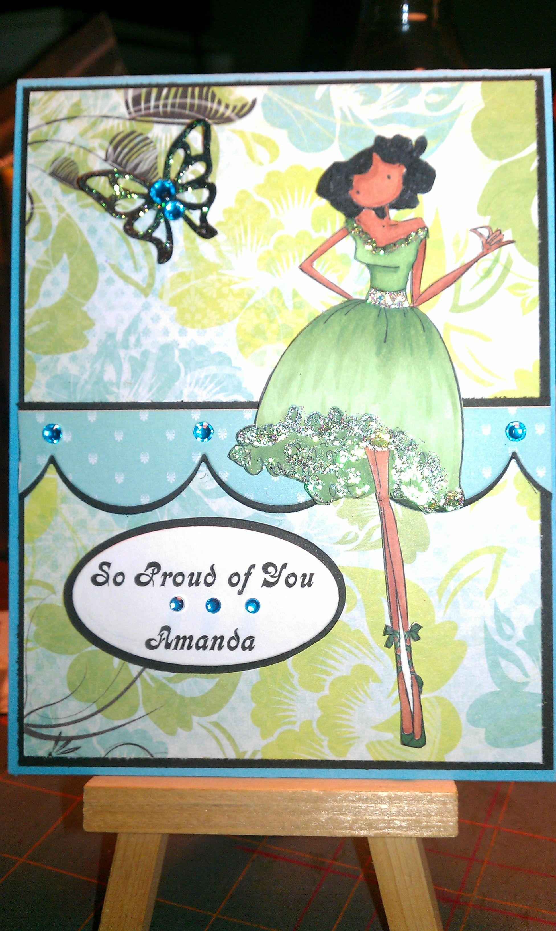 Upton's Nut Farm--Stamping Bella--Faith the Fairy--Green