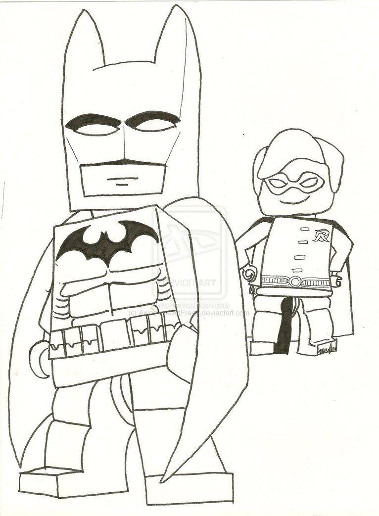 lego batman coloring pages free print  lego batman