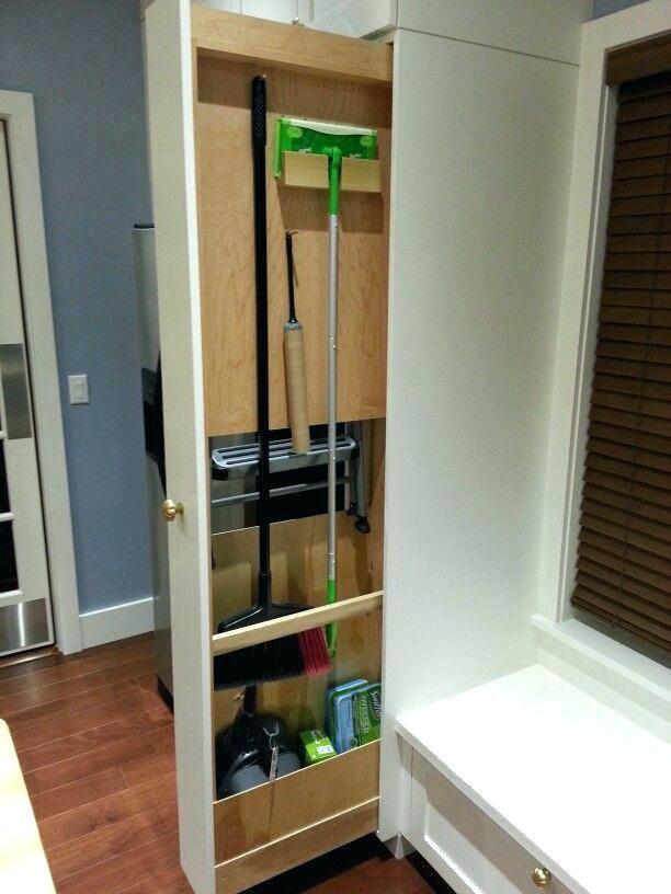 Kitchen Broom Closet Kitchen Broom Free Standing Kitchen Broom Closet Kitchen B Armario Para Vassouras Moveis Planejados Cozinha Pequena Organizacao Da Cozinha