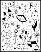 Desenhos Colorir Joane Miro Pesquisa Do Google Kunst Fur