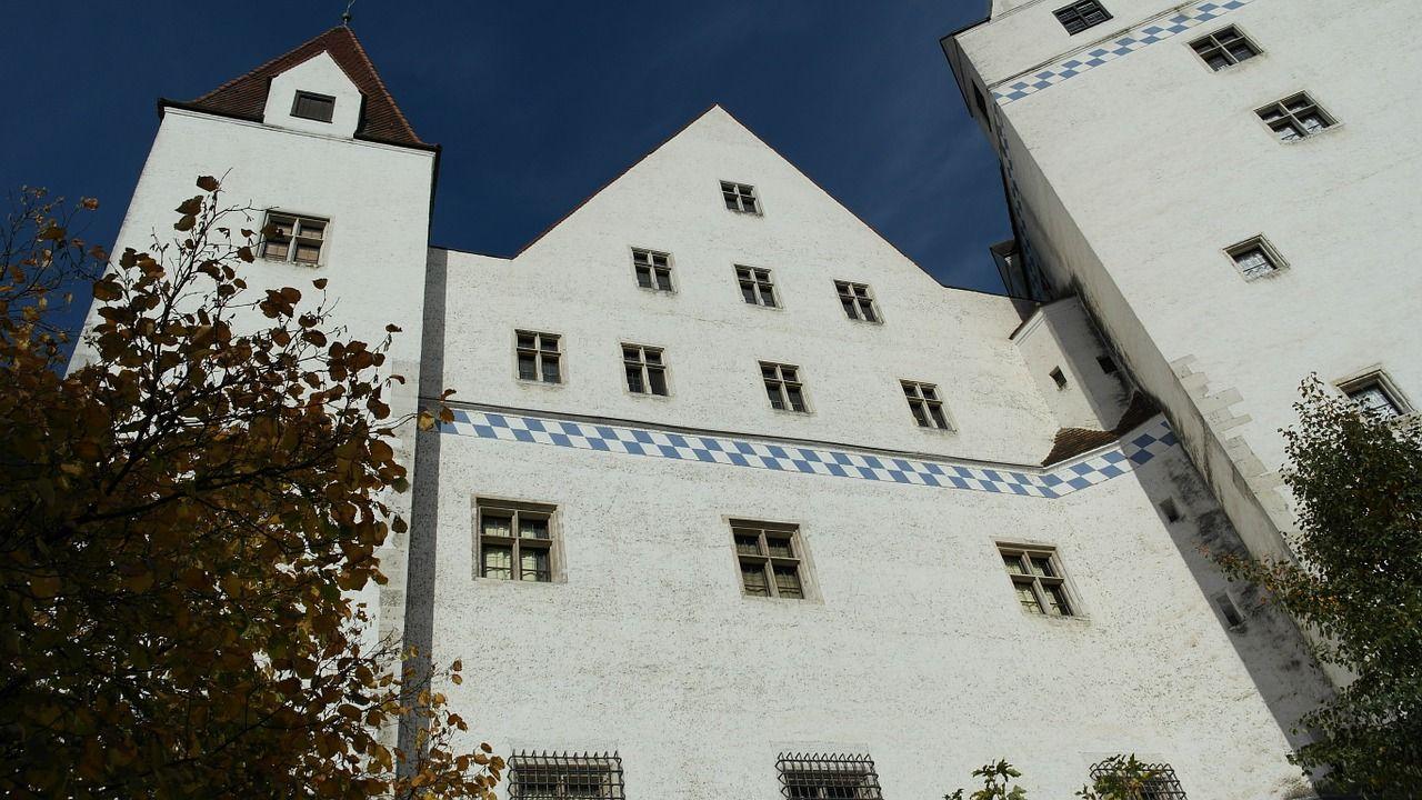 Castle, New Castle, Ingolstadt, Building, Gothic castle