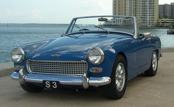 Austin Healey Sprite 1967  My mothers midlife crisis car It was