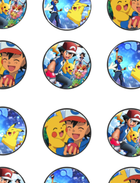 photo relating to Pokemon Cupcake Toppers Printable identified as Absolutely free Pokemon Birthday Celebration cupcake toppers, banner, and