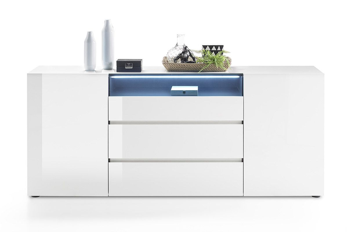Vicenza Sideboard Long White Dresser In 2020 Dressers For Sale