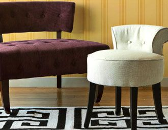 I pinned this from the Accent Chairs Under $150  Arm
