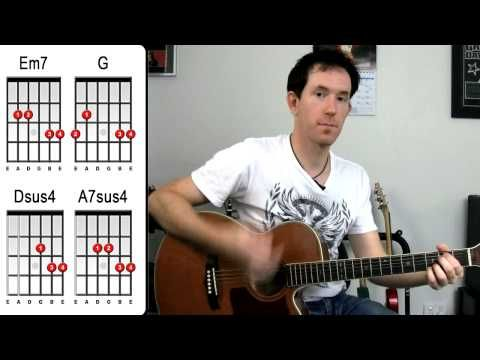 ▷ Wonderwall by Oasis - Acoustic Guitar Lesson - How to Play ...