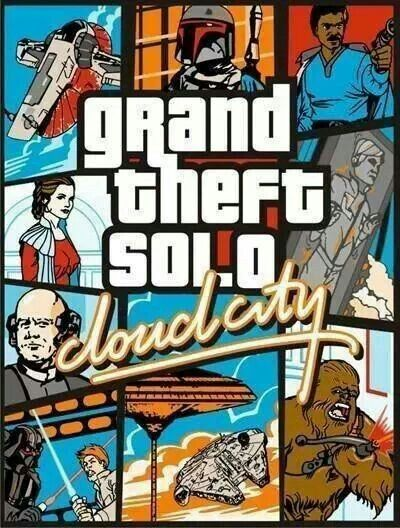 Grand theft solo ..... cloud city